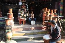 Ruido de tambores por todas partes