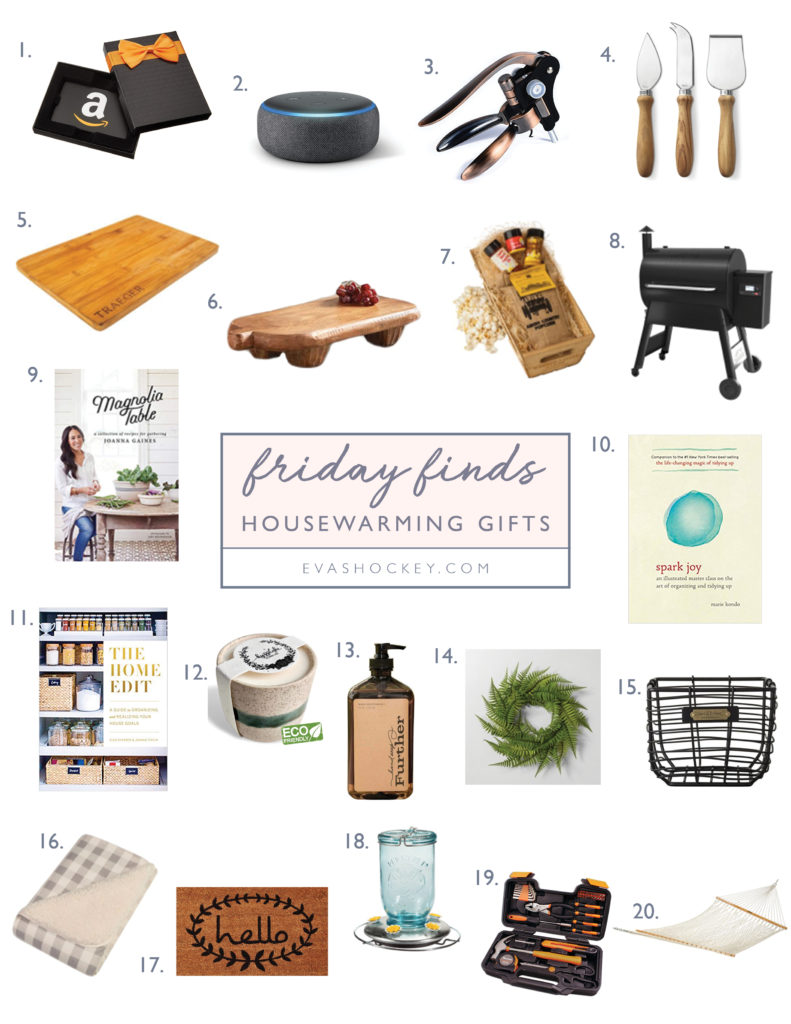Friday Finds Housewarming Gifts