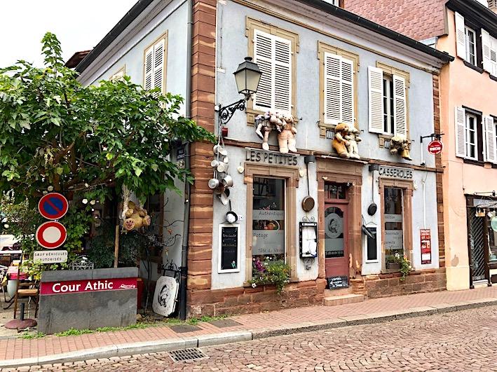 Restaurant les petites casseroles Obernai - Chauffeur Privé VTC - Evasion Cars - Taxi