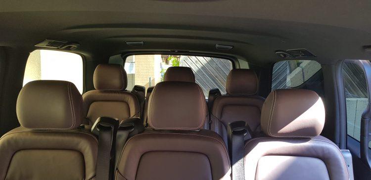 Sièges Van Mercedes Classe V / Evasion Cars  - Chauffeur Privé