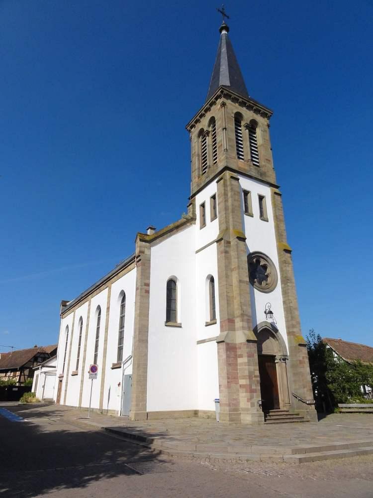 église Saint-Lambert / Chauffeur Vtc à Vendenheim
