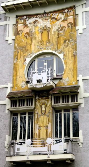 Art Nouveau Facade Bruxelles