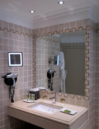 Salle de bain Hotel La Perouse