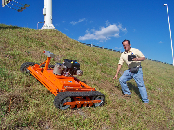 Lawn Mowers Steep Hills