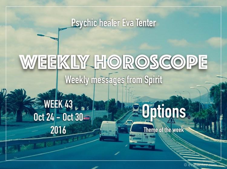 weekly horoscope week 43 2016