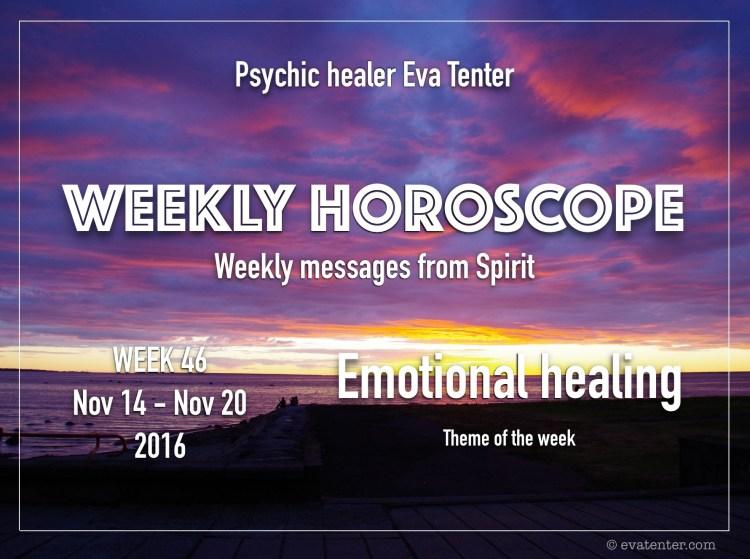 weeklyhoroscope week 46