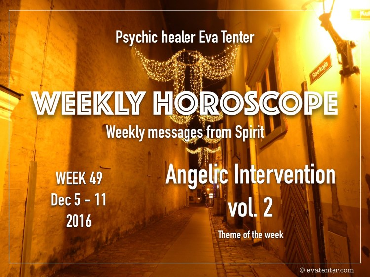 weekly horoscope week 49 2016