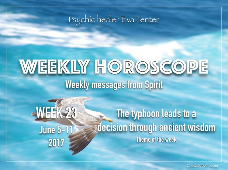 weekly horoscope week 23 2017