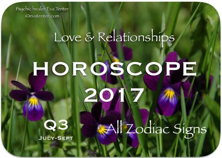 quarterly horoscope q3 2017 love relationships