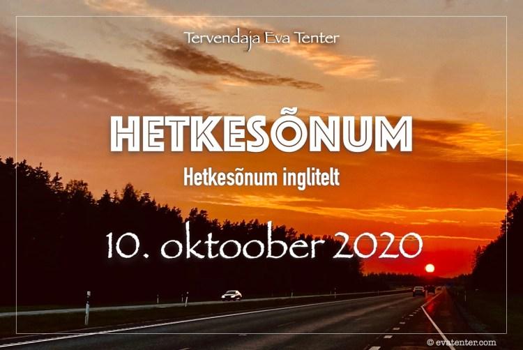 10 oktoober 2020