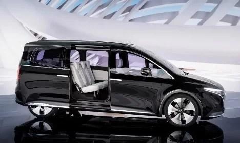 Interior Mercedes Benz EQT