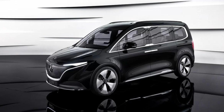 The Mercedes Benz EQT – The Van Concept For The Future