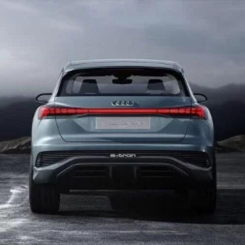 Audi Q4 E-tron BackView