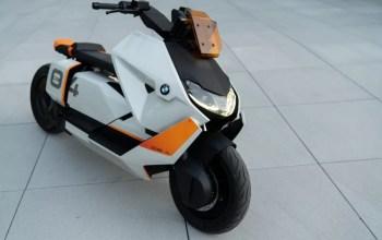 BMW CE 04 Futuristic Electric Scooter