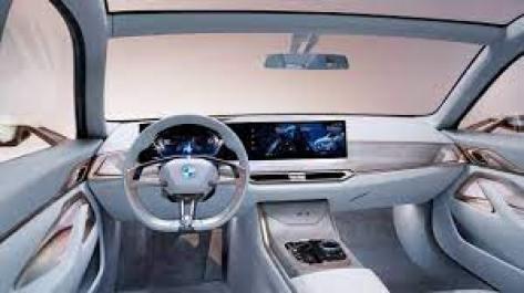 BMW i4 EV Interior