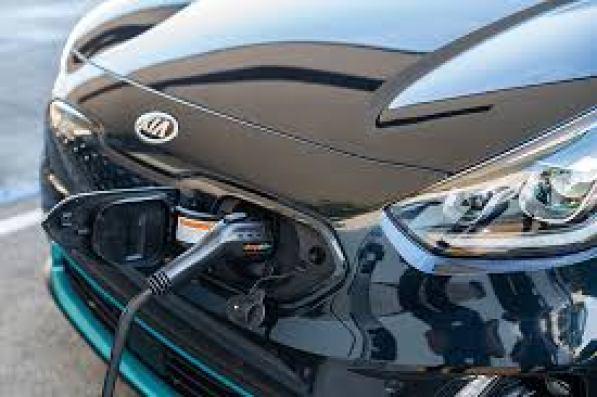 Kia Niro EV charging