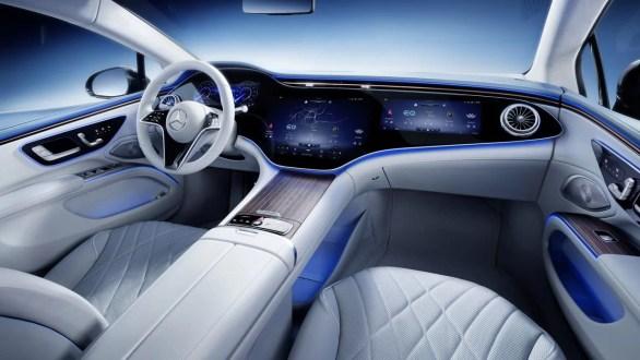 Mercedes-Benz EQS 450+ Interior