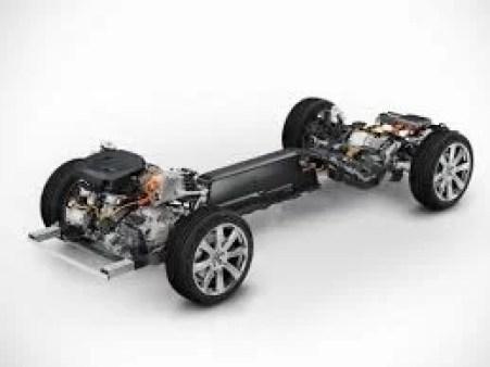 Volvo XC90 T8 Plug-in Hybrid Engine