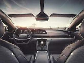 lucid air - interior