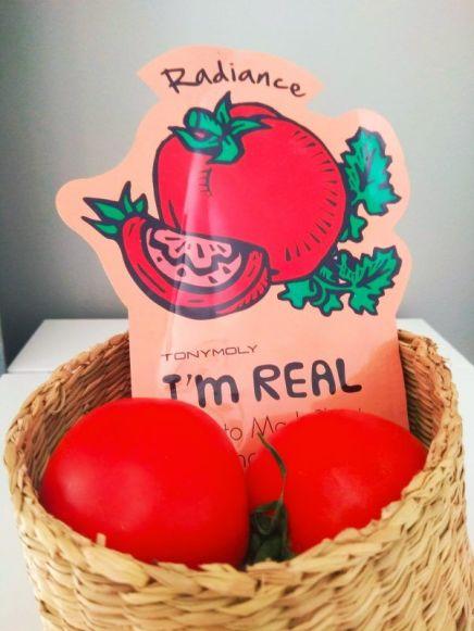Mascarilla I'M REAL de tomate