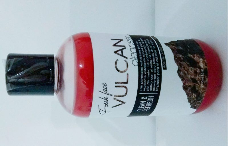 Fresh Face VULCAN cleanser