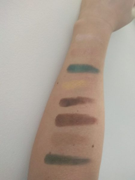 swatches Mint Chocolate