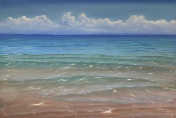 Waves of Clarity - original ocean painting