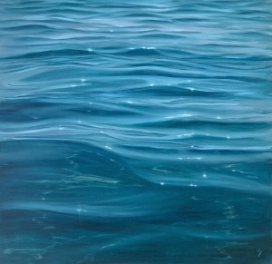 Realistic Crystal Clear Water Painting - Tranquil Waters
