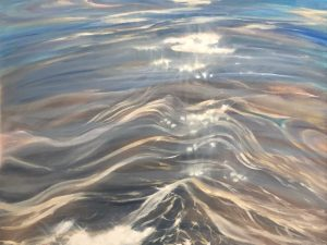 Clear Water Painting - Sun, San and Sea