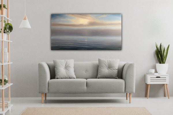 In Your Light - original sunset painting
