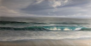 Original ocean wave painting
