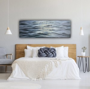 Large Original Coastal Painting