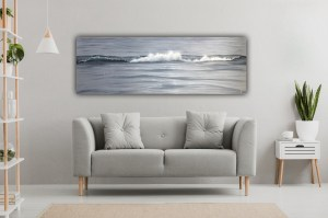 Solo - original ocean wave painting