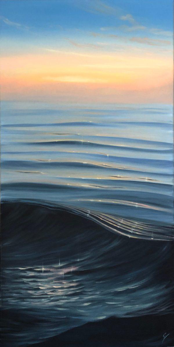 In Gratitude - original coastal sunrise painting