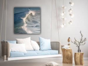 Splash - original wave painting