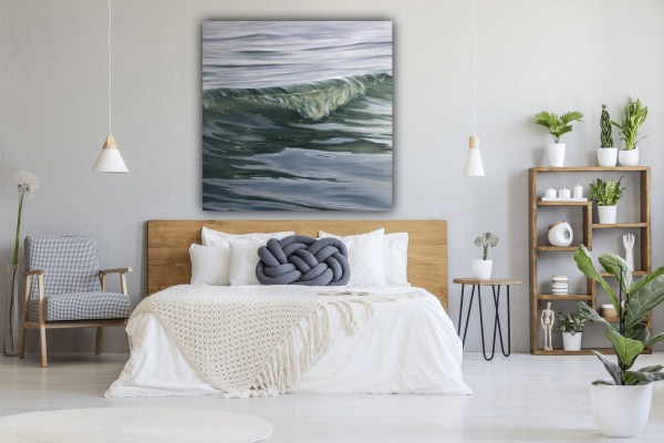 A Moment in Time - large original ocean painting