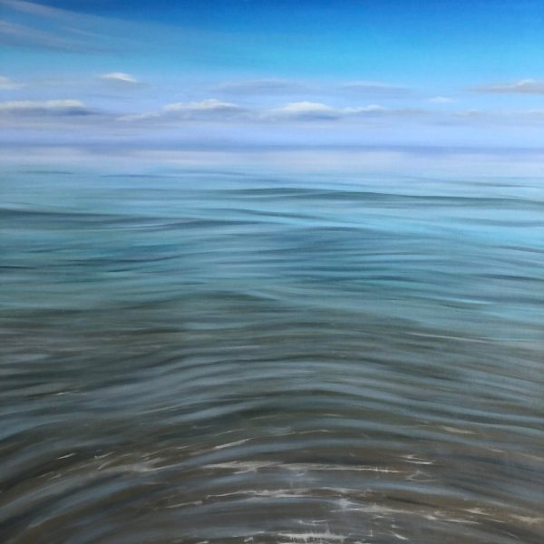 Azure Harmony - original crystal clear water painting