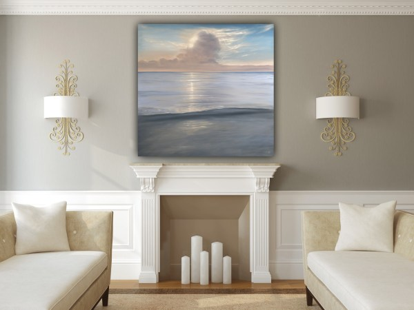 See The Light - Large Original Seascape Painting