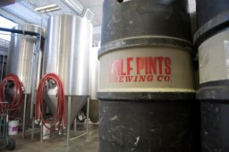 Winnipeg is considering allowing tap rooms in breweries so I went down to Half Pints and got some behind the scenes shots.