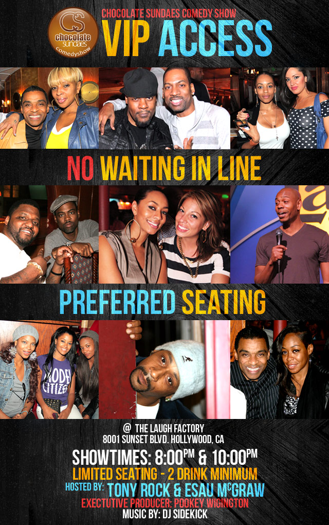 Laugh Factory Vip Tickets