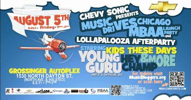 Chevy Sonic presents the Music DRIVES Chicago MBAA Launch...