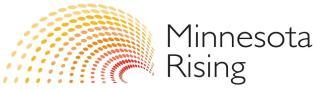 MN Rising Logo