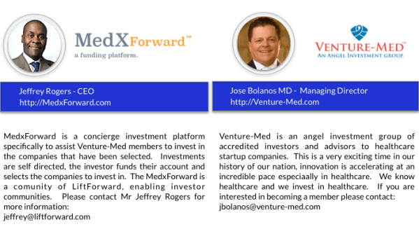 MEDxForward and Venture-Med