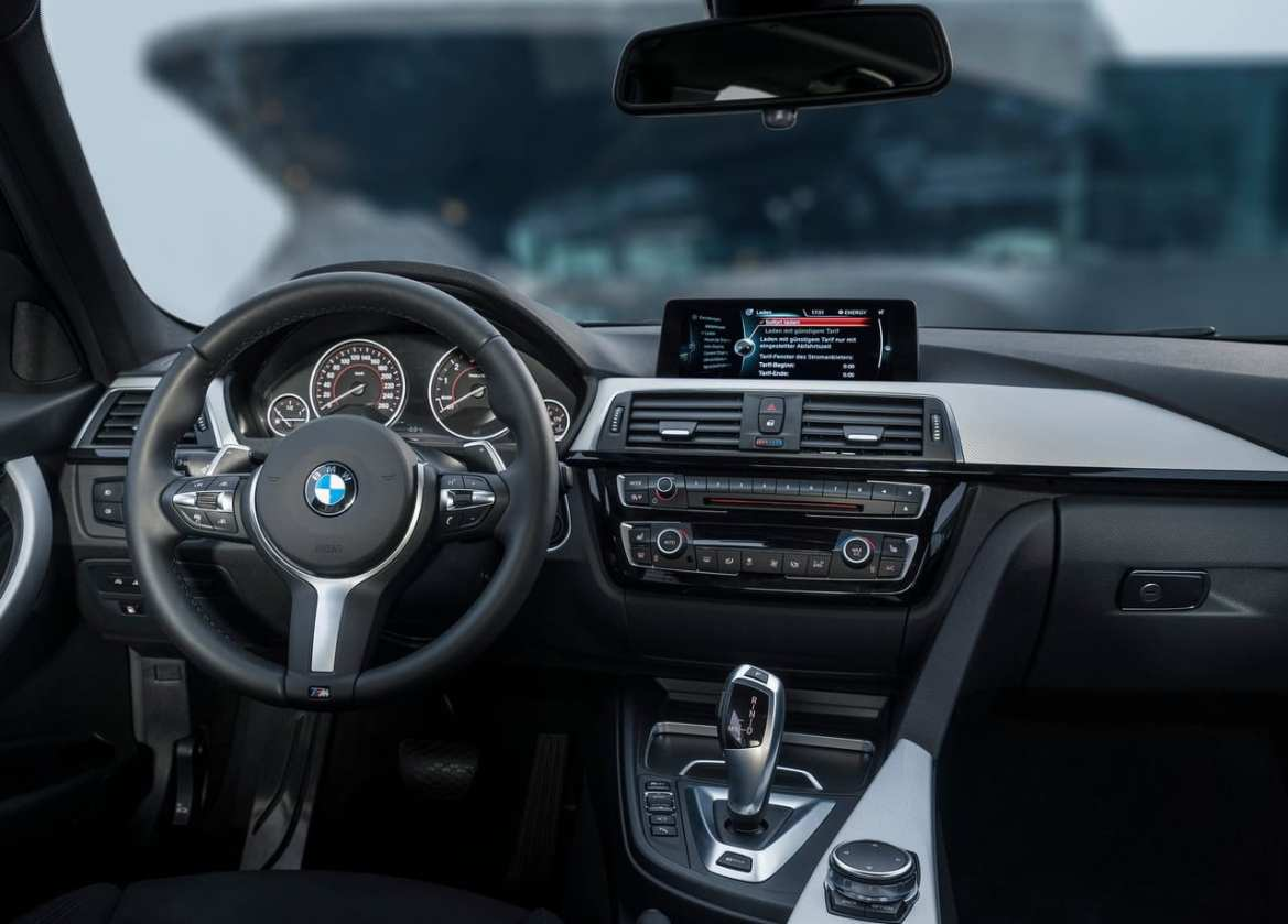 BMW 330e Interior
