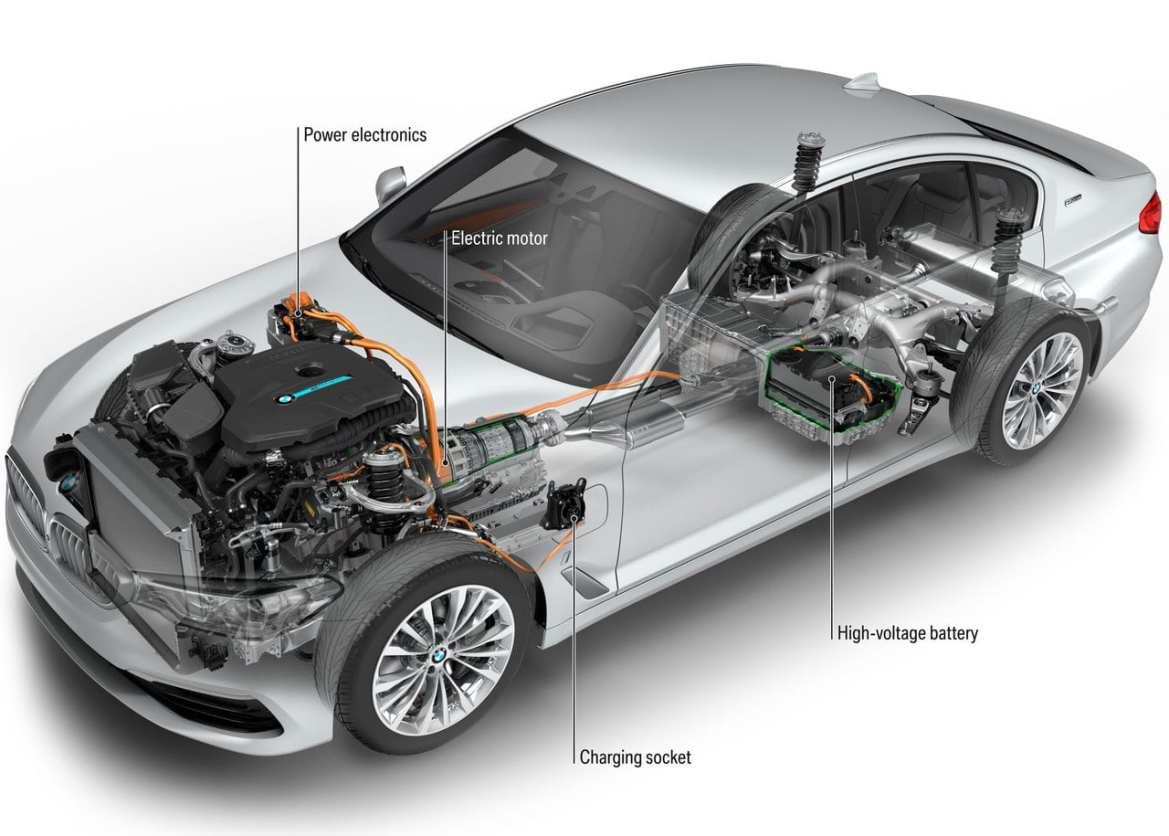 BMW 530e Powertrain