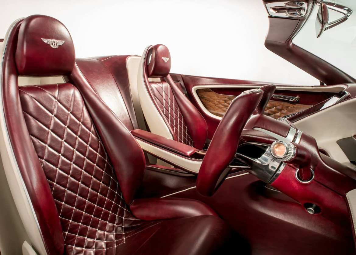 Bentley EXP 12 Speed 6e Interior