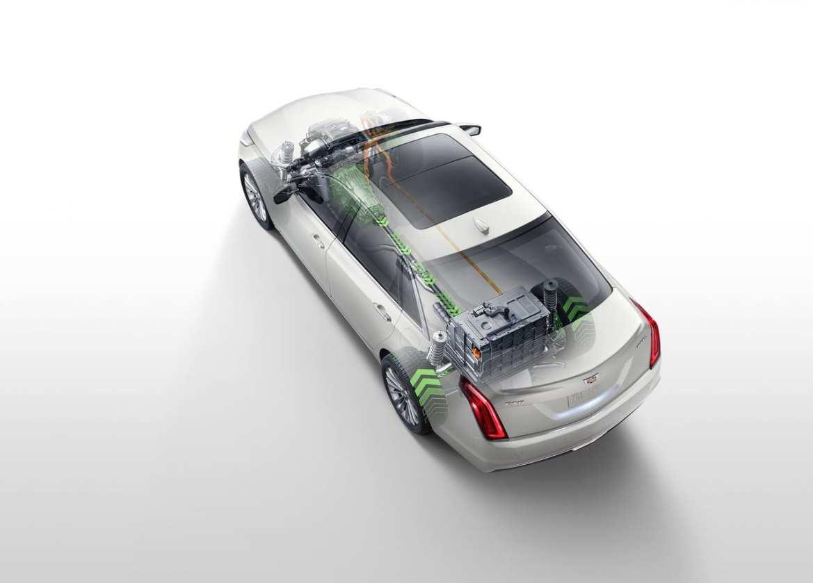 Cadillac CT6 PHEV Powertrain