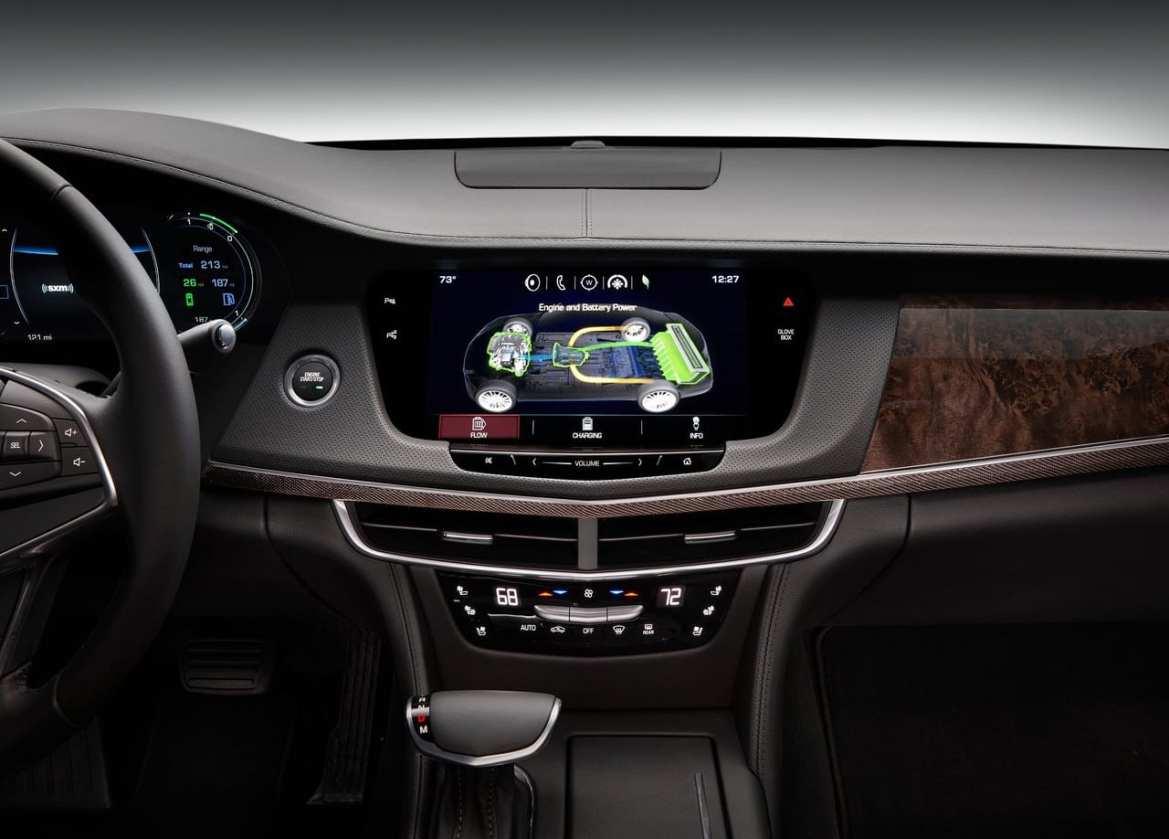 Cadillac CT6 PHEV Interior