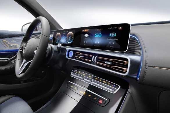 Mercedes-Benz reveals electric SUV, the EQC