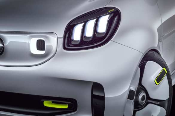Smart Reveals New Forease Electric Car Concept
